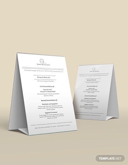 Chalkboard Banquet Menu Template [Free PSD] - Google Docs, Illustrator, Word, Apple Pages, Publisher