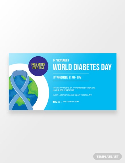 World Diabetes Day Facebook Post