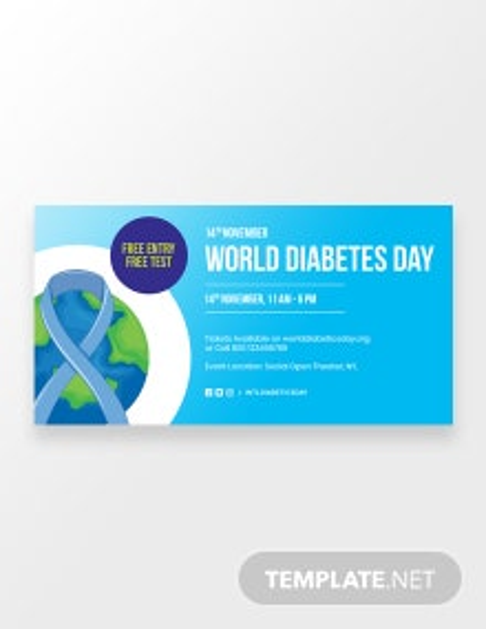 World Diabetes Day Facebook Post