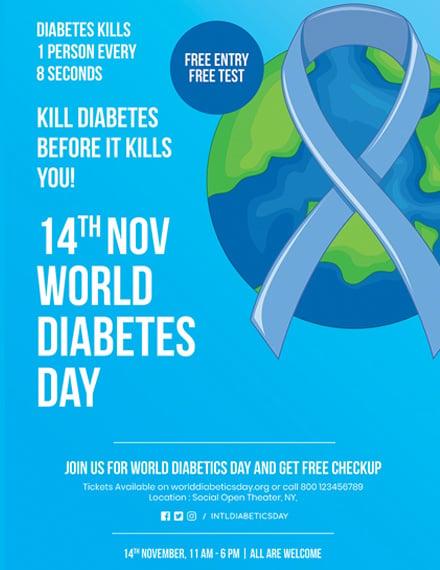 World Diabetes Day Poster