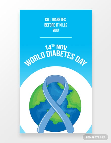 World Diabetes Whatsapp Image