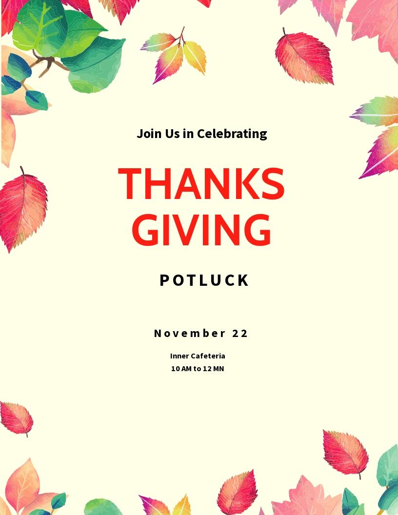 Thanksgiving Potluck Flyer Template.jpe