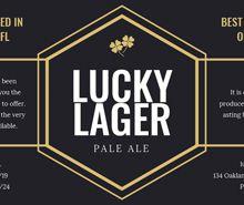 Free Sample Beer Label Template