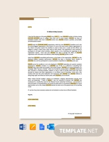 Free Leadership Recommendation Letter for School Student