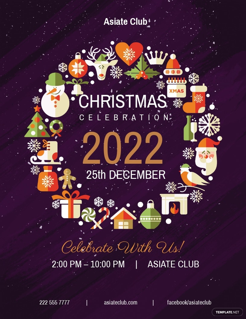 FREE Creative Christmas Flyer Template