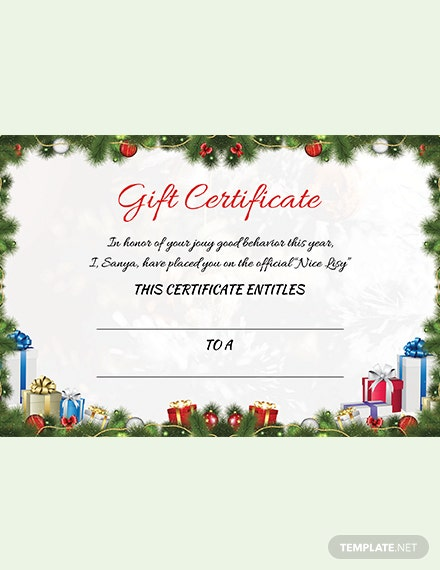 microsoft word gift card template