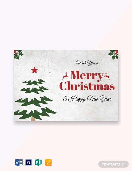 46 Free Greeting Card Templates In Microsoft Word Doc