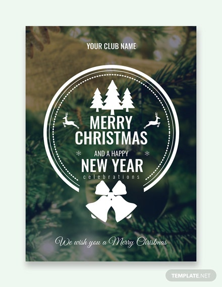 microsoft publisher christmas card template
