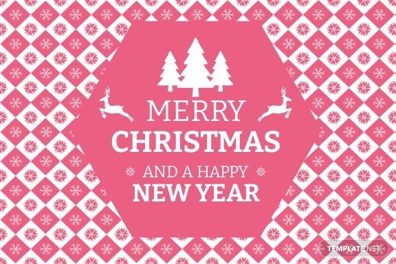 Free Christmas and New Year Card Template 1.jpe