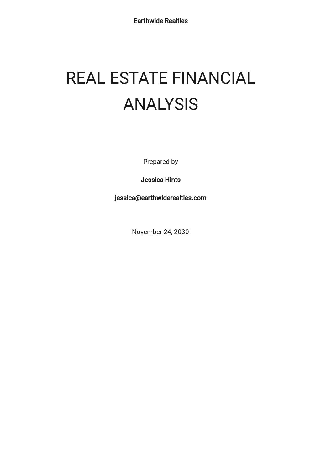 Real Estate Financial Analysis Template.jpe