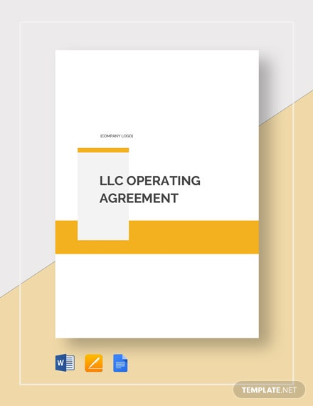 llc operating agreement 2