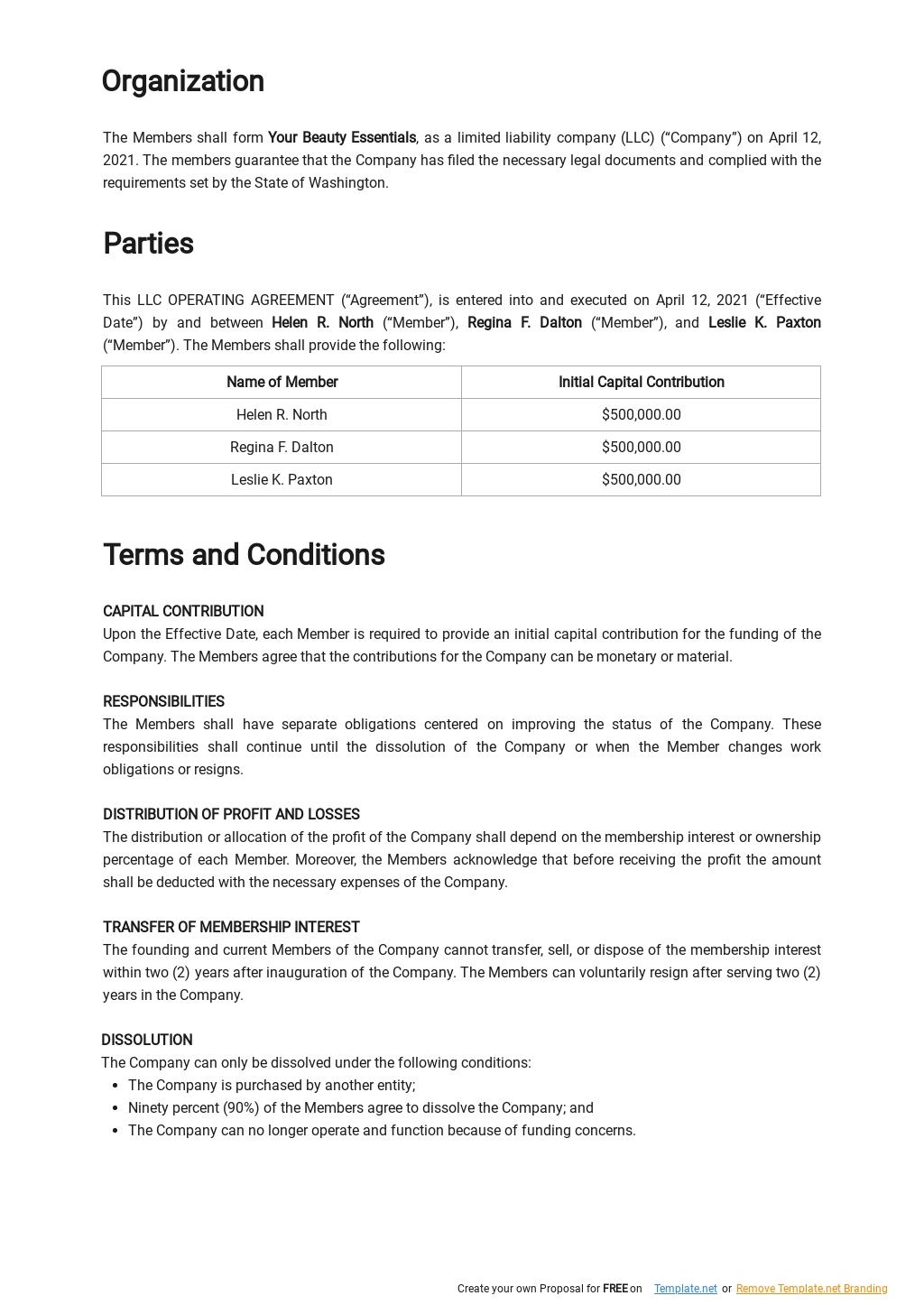 LLC Operating Agreement Template 1.jpe
