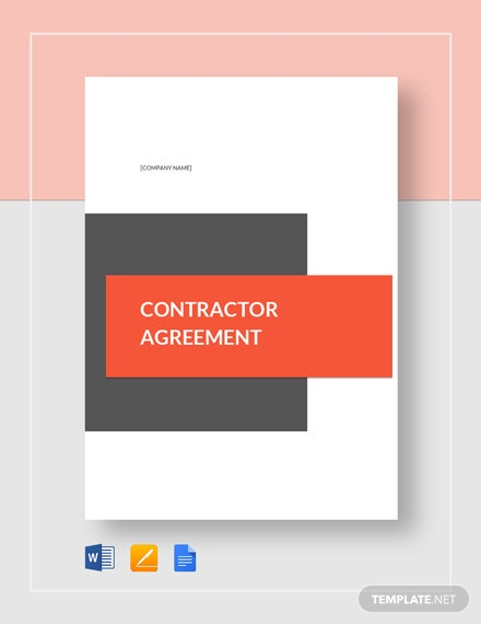 contractor agreement 2