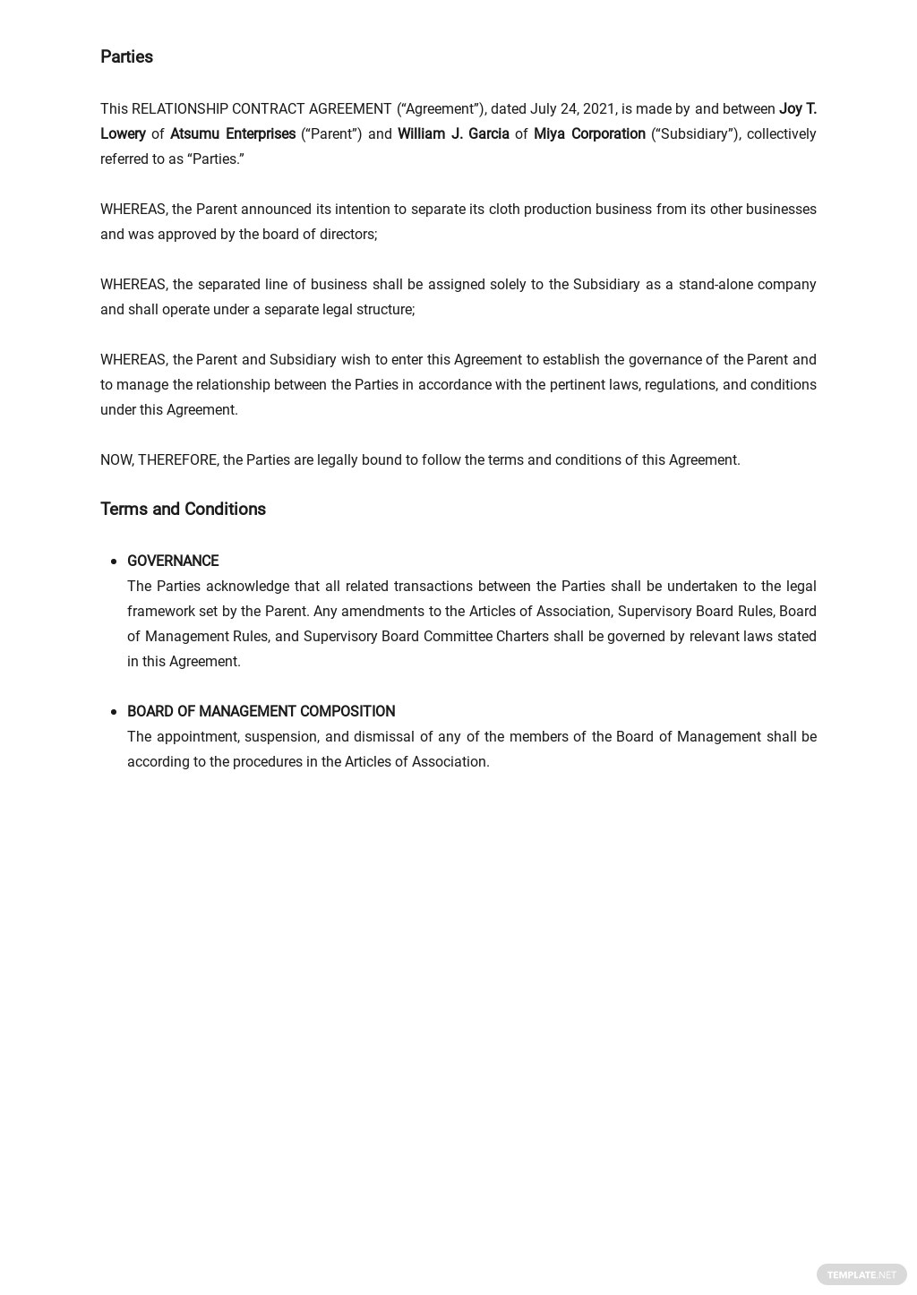 Relationship Contract Agreement Template  1.jpe