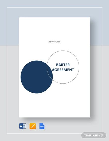 Barter Agreement Template