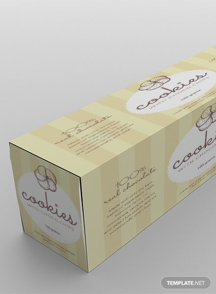 free product label templates