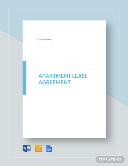 Apartment Lease Agreement Template