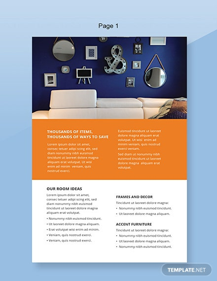 FREE Home Decor Catalog Template: Download 35+ Catalogs in PSD