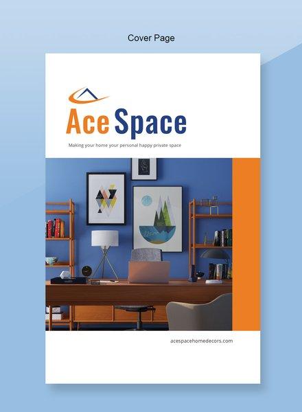 Free Home Decor Catalog Template