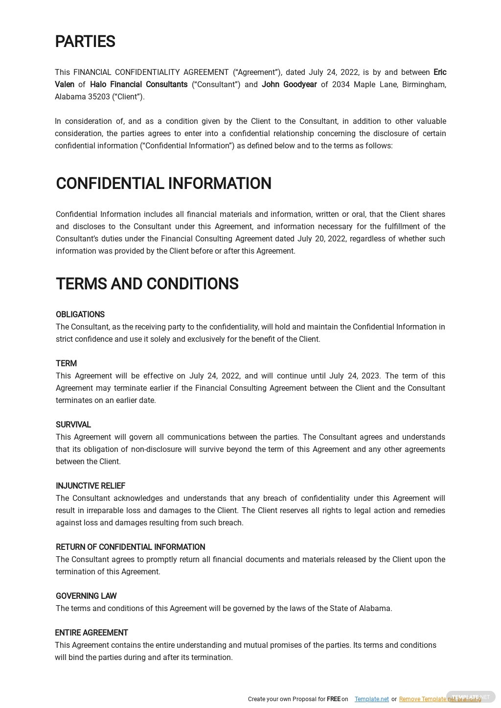 Financial Confidentiality Agreement Template 1.jpe