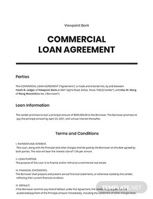 Commercial Agreement