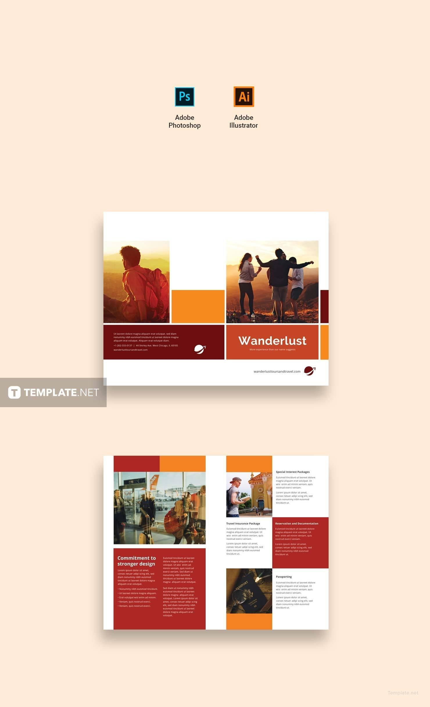 Free Service Catalog Template in Adobe Photoshop, Illustrator ...