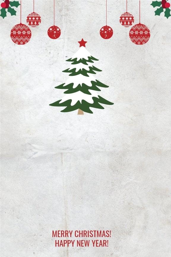 Free Modern Christmas Thank You Card Template 1.jpe