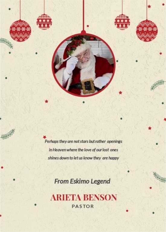 Free Christmas Bonus Thank You Card Template 1.jpe