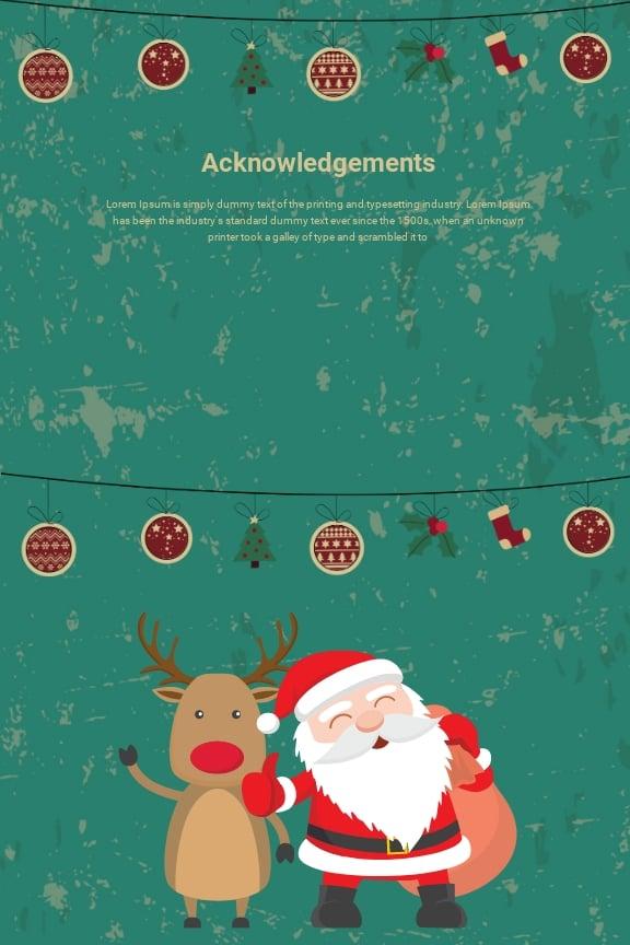 Free Elegant Christmas Thank You Card Template 1.jpe