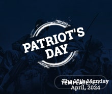 Free Patriot's Day Facebook Event Cover Template