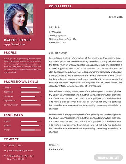 Free App Developer Resume Template
