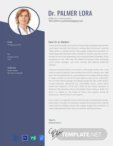 Free Doctor Resume Template