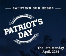 Free Patriot's Day LinkedIn Blog Post Template