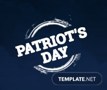 Free Patriot's Day LinkedIn Company Cover Template
