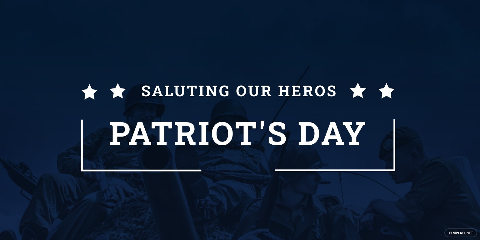 Patriot's Day LinkedIn Company Cover Template