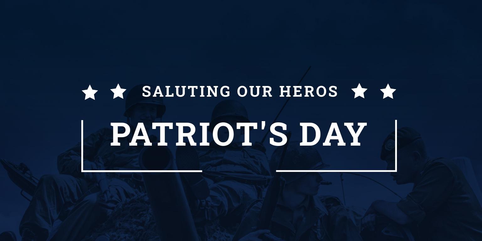 Patriot's Day LinkedIn Company Cover Template