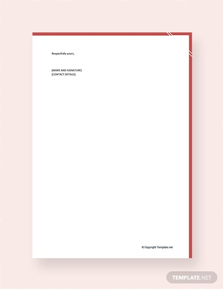 Immigration Reference Letter for a Friend Template [Free PDF] - Google Docs, Word