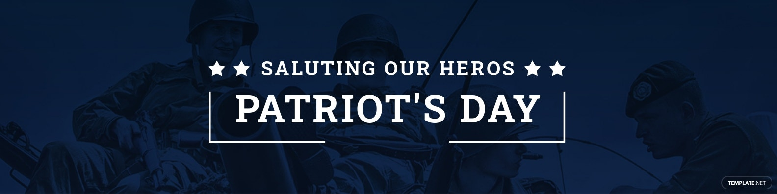 Patriot's Day LinkedIn Profile banner Template