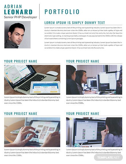 PHP Developer Portfolio