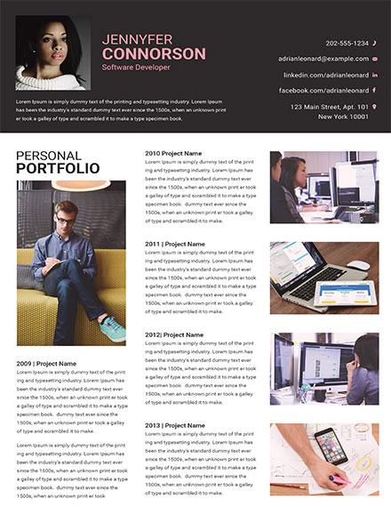 Software Developer portfolio