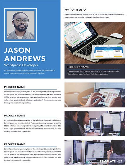 Wordpress Developer Portfolio