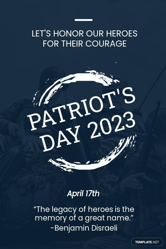Patriot's Day Tumblr Post Template