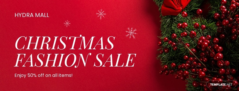 Free Christmas Facebook and Twitter Cover Page.jpe