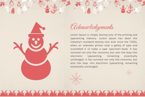 Free Merry Christmas Postcard Template 1.jpe