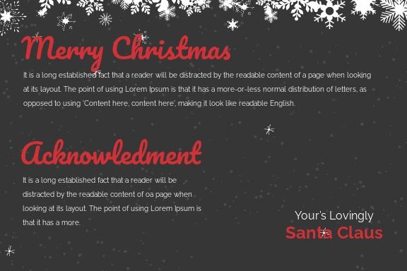 Free Chalkboard Christmas Postcard Template 1.jpe