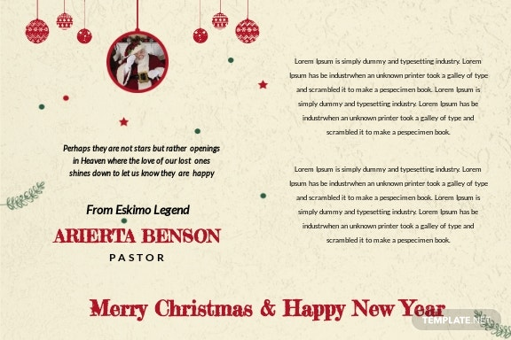 Christmas and New Year Postcard Template 1.jpe