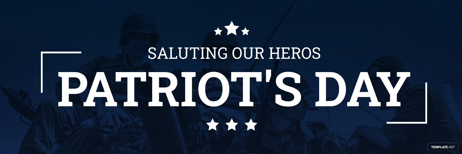 Patriots Day Twitter Header Cover Template.jpe