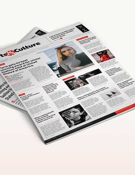 Art and Culture Newspaper Download