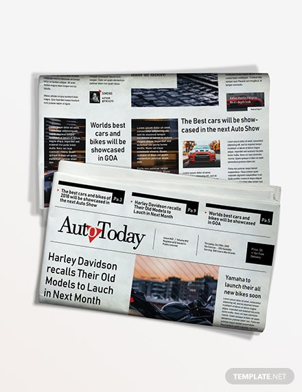 Automobile Newspaper Download