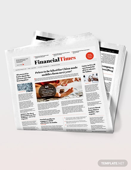 Financial Newspaper Download